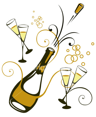 Happy New Year Champagne Png Images & Pictures - Becuo