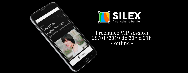 silex online webinar pour freelances